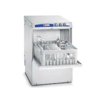 Elframo BE40 front töltésű pohár- és tányérmosogató gép, 400X400 kosár méret, ürítőszivattyúval