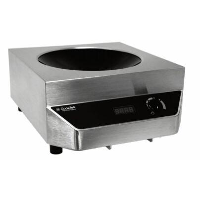 Cooktek MWG 3500 indukciós wok, edénnyel