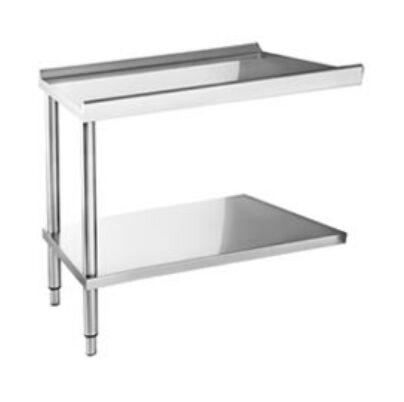 Elframo hozzá építhető asztal alsó polccal