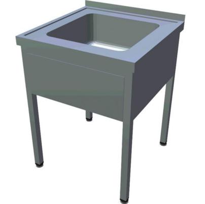 Egymedencés mosogató, 400x400x250 medence