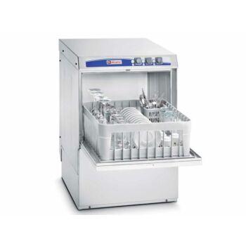 Elframo BE 40 front töltésű pohár- és tányérmosogató gép, 400X400 kosár méret, ürítőszivattyú nélkül