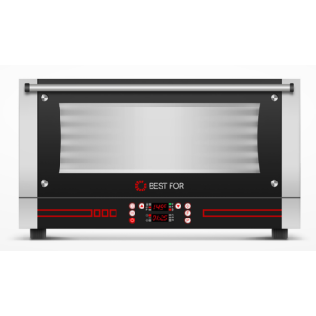 BestFor Bistro Snack 364 3 tálcás légkeveréses sütő párásítóval, digitális kijelzővel