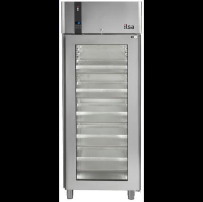 Ilsa Evolve cukrászati üvegajtós mélyhűtő szekrény 750L -20° -10°C