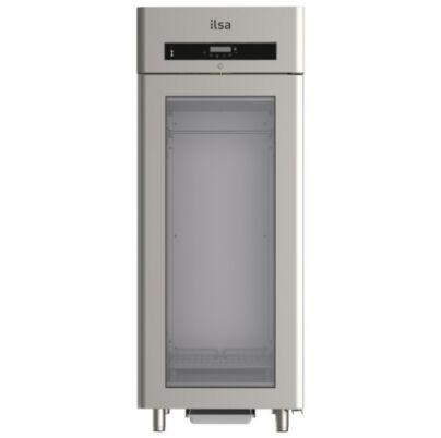Ilsa Evolve üvegajtós csokoládé hűtő 750L +4° +18°C