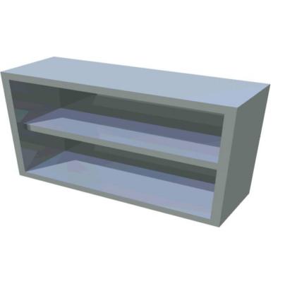 Faliszekrény nyitott 400x600x650 mm hosszú