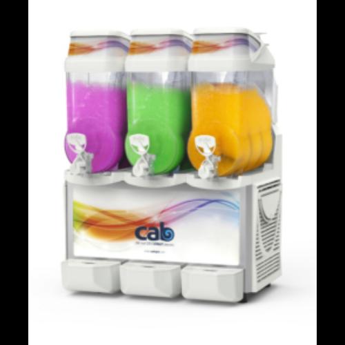 CAB Faby Infinity jégkásagép, 3x12 literes tartállyal