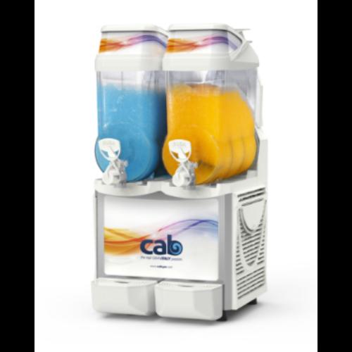 CAB Faby Infinity jégkásagép, 2x12 literes tartállyal