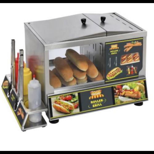 Roller Grill HDS gőzös hotdog készítő állomás (állvány nélkül)