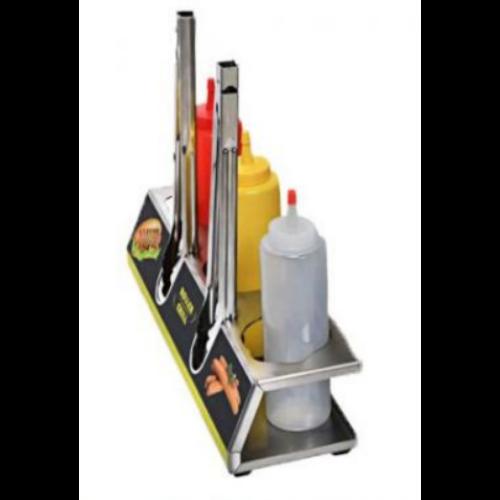 Roller Grill KHDS 60 rozsdamentes szósz tartó állvány HDS hotdog állomáshoz