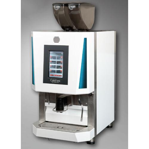 Alpina RIVA automata kávégép 2 darálóval, fehér színben, 5 literes tejhűtővel (150 adag / óra)