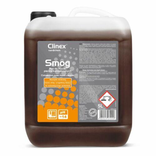 CLINEX SMOG ipari tisztítószer párolók, füstölő kamrák tisztítására PH14 5L