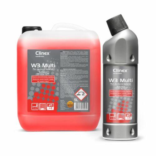 CLINEX W3 Multi szaniter tisztítószer PH1 1L (6 flak./#)