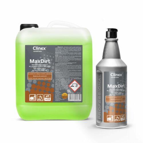 CLINEX MAX DIRT alacsony habzású felmosó és felülettisztító 1L