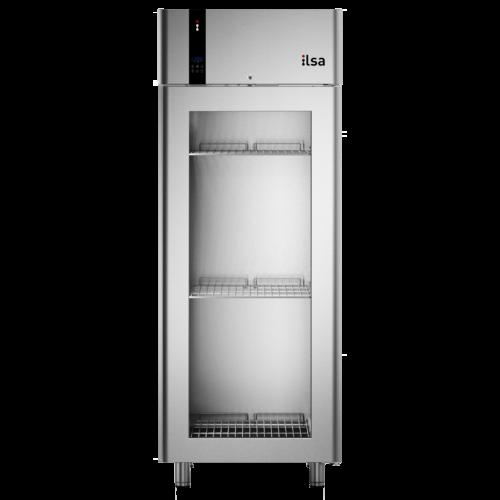 Ilsa Evolve üvegajtós hűtőszekrény GN 2/1 700L 0° +10°C