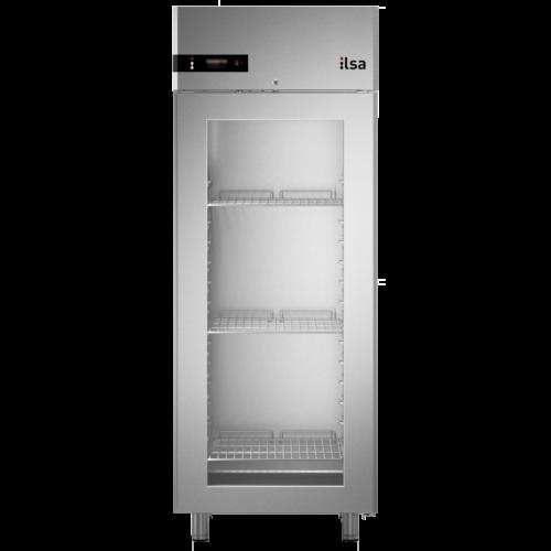Ilsa Neos üvegajtós hűtőszekrény GN 2/1 700L 0° +10°C
