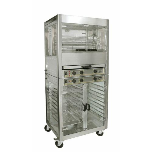 Roller Grill RE 2 Melegentartó szekrény RBE 25 grillcsirke sütőhöz
