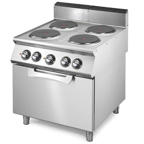 Virtus elektromos tűzhely 4 főzőlapal és elektromos sütő