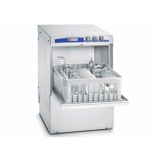 Elframo BE 40 PS front töltésű pohár- és tányérmosogató gép, 400X400 kosár méret, ürítőszivattyúval