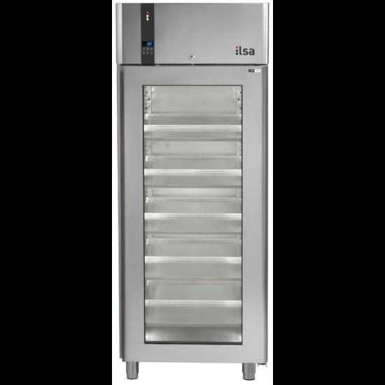 Ilsa Evolve cukrászati üvegajtós hűtőszekrény 750L 0° +10°C