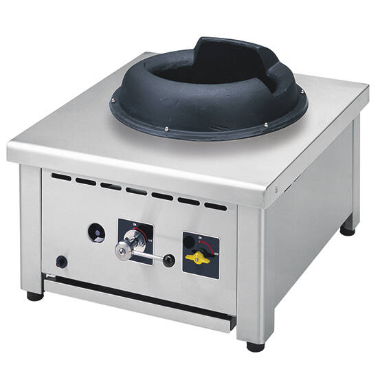 Virtus gázüzemű wok sütő