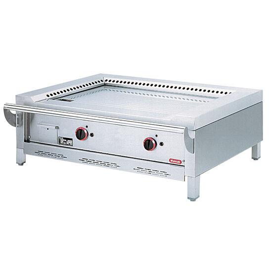 Virtus 2 zónás gázüzemű teppanyaki