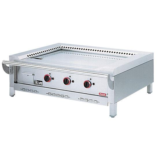 Virtus 3 zónás gázüzemű teppanyaki